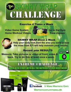 #SkinnyWraps #ItWorksGlobal Ask me how to get our products at discounted prices! http://aboveallbody.myitworks.com/