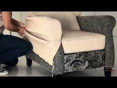 ▶ Faire une housse pour son fauteuil - DIY déco - YouTube                                                                                                                                                     Plus