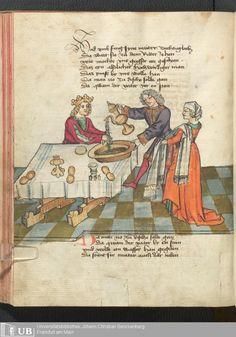 246 [121v] - Ms. germ. qu. 12 - Die sieben weisen Meister - Seite - Mittelalterliche Handschriften - Digitale Sammlungen
