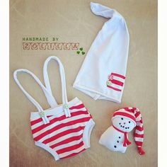 Christmas set with snowman photoprops