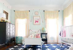 Estilo y sofisticacion vintage en la habitacion de los niños