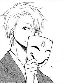 Itsuki with Laughing Mask | Fukigen Na Mononokean #aychan-orimangacrop