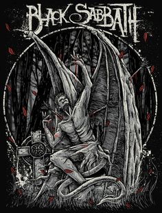 Black Sabbath by TROCKZ ART, via Behance