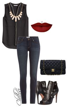 """""""Autumn 2015"""" by chilluci on Polyvore featuring H&M, Paige Denim, Rebecca Minkoff, Rivka Friedman, Chanel and Anastasia Beverly Hills"""