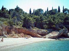 Ligoneri beach, Spetses ~~~ Greece