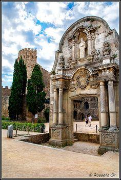 *SPAIN ~ Porta de Sant  Benet, Sant Feliu de Guixols Catalonia