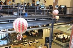 43 Ways Pinterest's Office Is The DIY Paradise You'd Expect -- SO awesome