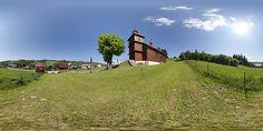Wooden church in Varadka, Slovakia