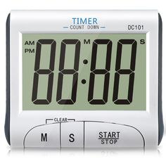 Digital timer with count up/down function