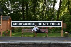 As I missed Bev's Fitness yoga this morning (bring your own mat) at Victoria Hall I thought I would try this months pose on the station before the passengers arrived. See yoga can be done anywhere.  www.bevsfitness.co.uk