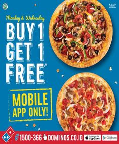 Dominos Pizza Promo Super Monday http://www.perutgendut.com/read/dominos-pizza-promo-super-monday/1887 #Promo #Food #Kuliner #Indonesia
