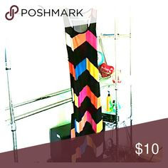 Sexy retro color block maxi dress Multi colored and bright! Size small. Worn several times and only stopped because of weight gain. Perfect for a night out on the town. This dress is so fun and comfortable to wear. Dresses Maxi
