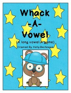 Long Vowel Game (Whack-A-Vowel: Long A) Free