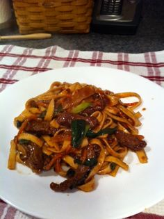 Not to blow my own horn, but my Mongolian Beef Lo Mein is pretty fantastic.