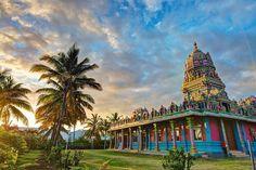 Reunion Island - Narassingua Perournal Temple