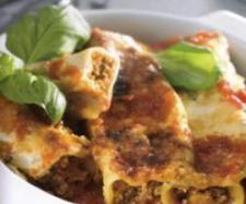 Receita Cannellone com carne picada e molho de tomate por Equipa Bimby