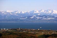 Bodensee ~ Lake Constance oder das Schwaebische Meer