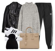 """Style #11719"" by vany-alvarado ❤ liked on Polyvore featuring adidas, H&M, adidas Originals, Yves Saint Laurent and Barts"