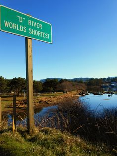 world's shortest river - Lincoln City #Oregon