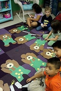 Use with button attribute activity already pinned to this board! Preschool Literacy, Preschool Crafts, Kindergarten, Teddy Bear Day, Cute Teddy Bears, Beginning Of School, Pre School, Preschool Summer Camp, Bear Crafts