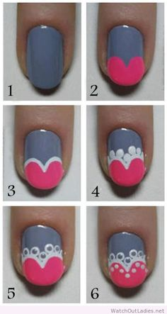 I would change the colours, this is a great step by step