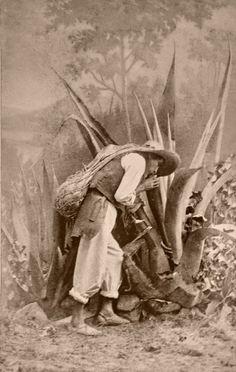 portraits of Mexicans 1860-Juan Rulfo; No Oyes Ladrar Los Perros.