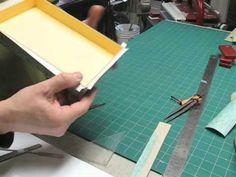 Prototype box Part 3B - Gluing it down - YouTube