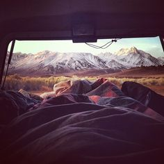 I would love to wake up to this view