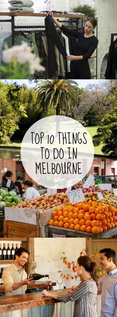 Top 10 Things to do in Melbourne #pinuplive