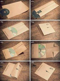 How To Make A CD Case Out Of Paper