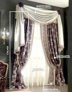 WeVUX  lot of interior home.decore advices! click to read more!  Scuola d'interni - decorazione: Tendaggi   WeVUX