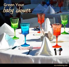 Green Your Baby Shower