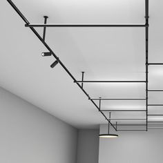 Find out all of the information about the FLOS product: LED track light / linear / round / aluminum THE TRACKING MAGNET . Modern Track Lighting, Track Lighting Fixtures, Modern Lighting Design, Shop Lighting, Interior Lighting, Lighting Ideas, Light Fittings, Light Fixtures, Textured Wall Panels