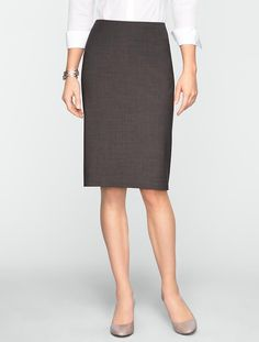 Find a great selection of women's skirts on sale at Talbots! Shop active, pencil, a-line skirts & more. Check out our sale to save on your favorite styles. Skirts For Sale, A Line Skirts, Office Dresses, Dresses For Work, Work Jackets, Business Casual Outfits, Work Fashion, Dress Me Up, Talbots