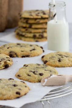 Salted Chocolate Chip Cookies. Einfaches und schnelles Rezept für Kekse mit Schokolade. Salted Chocolate Chip Cookies, Cupcakes, Foodblogger, Post, Sweet, Muffins, Desserts, Recipes, German