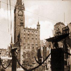 Danzig, Big Ben, Poland, Building, Travel, Voyage, Trips, Buildings, Viajes