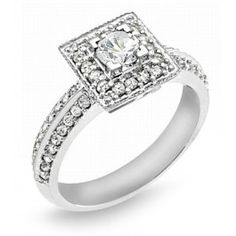 Ladies Diamond Engagement Ring 1.00 ct. tw.