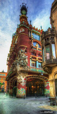 Palau de la Música, Barcelona, Spain