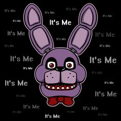 ======= Shirt for Sale ======= Bonnie - It's Me Five Nights at Freddy's tshirt by Kaiserin. =========================   #FNAF