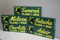 CUSTOM Graduation Sign, Class of 2016 Sign, College Graduation, High School Graduation, Vance Granville, VGCC Personalized Custom Sign by EntropySigns on Etsy