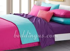 1000 Images About Pink Purple And Blue Bedroom For My Girls On Pinterest
