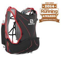 La mochila de #hidratación Advanced Skin Lab Hydro permite llevar 5 litros de forma cómoda al correr.