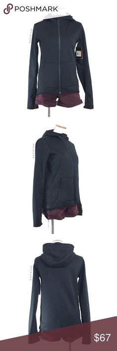 """🆕 NIKE training jacket NEW with tags, never worn, and in excellent condition. no flaws or imperfections. thumb hole detail, side zip pocket, therma-fit training jacket perfect for layering  details ・small ・23"""" length ・18"""" bust  ・25.5"""" sleeves    💰 use offer feature to negotiate price 🚫 i do not trade or take any transactions off poshmark  please don't hesitate to ask questions. happy POSHing 😊  lighting- color of actual item may vary slightly from photos. human hand measurements- give or…"""
