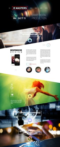 Я-Masters by Wladimir Ilyanoi, via Behance | #webdesign #it #web #design #layout #userinterface #website #webdesign < repinned by www.BlickeDeeler.de | Visit our website www.blickedeeler.de/leistungen/webdesign