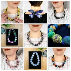 My new chunky necklaces come in 10 limited edition handmade designs from soft to bold and as a wee thank you to all my lovely followers you can get 10 off these for the next week over in my shop using the checkout code YAY10  #albaquirky #chunkynecklace #necklace #fabricnecklace #fabriccoveredbeads #statementnecklace #accessories #beadnecklace #handmade #handmadejewelry #handmadejewellery #upcycling #upcycled #upcyclednecklace #albaquirkypt