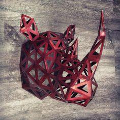 #paper #papier #paperart #papercut #papercraft #pepakura #sculpture #origami…