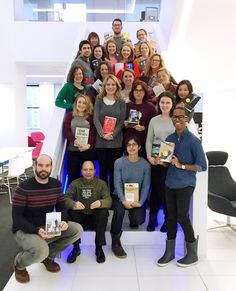 Making #TimetoRead Mashable, National Book Foundation, and Penguin Random House employees pose at the Mashable offices in New York City on January 24, National Readathon Day. The initiative, sponsored by PRH, GoodReads, Mashable, and the NBF, invited people across the country to commit to reading a book for four straight hours, while raising funds for the NBF. Participants used the hashtag #timetoread to share his or her experience on social media.