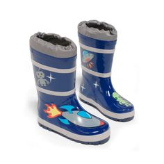 New Kidorable Blue Space Hero Natural Rubber Rain Boots online shopping - Findhitstoday Toddler Rain Boots, Space Hero, Blue Space, Moon Boots, Cute Boots, Natural Rubber, Boots Online, Baby Clothes Shops, Big Kids