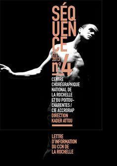 Couverture de Séquence nº4 - lettre d'information du CCN de La Rochelle(photo: J. Garcia)