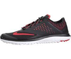 Nike FS LITE RUN 2 Schwarz Rot Herren Running Laufschuhe Neu - http://on-line-kaufen.de/nike/41-eu-nike-fs-lite-run-2-685266-406-laufschuhe-2015